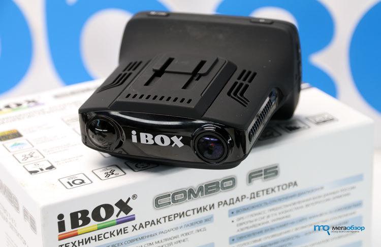 Видеорегистратор IBOX COMBO F5 в Киришах